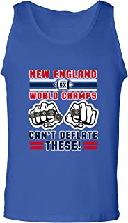 World Champs Can't Deflate These Football Sports DT Adult Tank Top