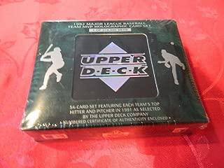 1992 UPPER DECK BASEBALL MVP HOLOGRAM SET TOUGH TO FIND FACTORY SEALED