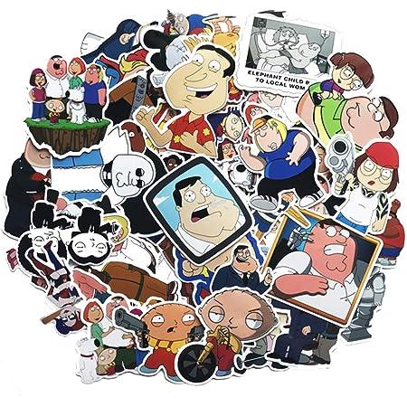 Family Guy Peel /& Rub Sticker