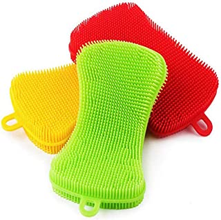 Baby Bottle Silicone Scrubber and Brush for Cleaning Brush