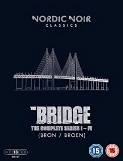 THE BRIDGE/ブリッジ シーズン1-4 [DVD-PAL方式 ※日本語無し](輸入版) -The Bridge: Season 1-4-