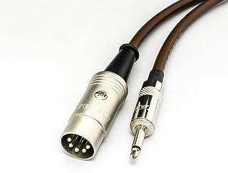 Cable MIDIPLUS MiniEngine & Pro MIDI sobre Mini Jack. Cable TRS de 3,5 mm a DIN de 5 pines.