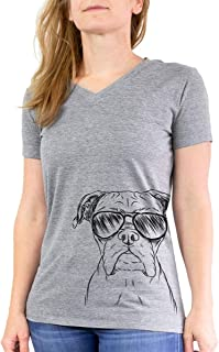 Axel The Boxer Dog Triblend T-Shirt