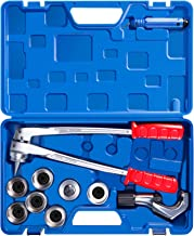 CO-Z 7 Level Professional Aluminum Copper Tube Expander Tool Full Set with Tube Cutter..