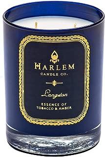 Harlem Candle Company Langston Luxury Candle, 12 oz Jar Candle, Double Wick