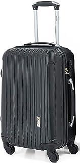 Senator Hard side Suitcase on Wheels Ultra Lightweight ABS Light Spinner Trolley Case with Spinner Wheels 4 - KH132 (28, B...