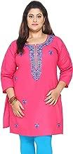 Maple Clothing Plus Size Dress Women's Indian Tunics Cotton Kurti Long Top