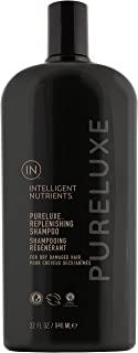 Intelligent Nutrients Environmental Size PureLuxe Replenishing Shampoo - Aloe-Based Shampoo with Baobab Protein for Dry & ...