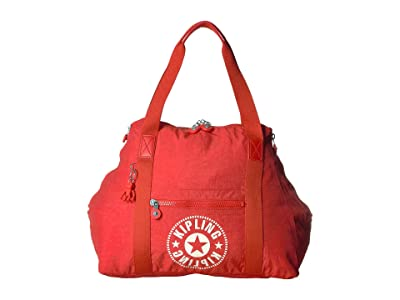 Kipling Art M Tote (Active Red) Tote Handbags