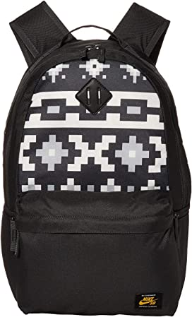 Nike Mens SB Icon Backpack Washed Coral//Medium Olive//Fuel Orange One Size