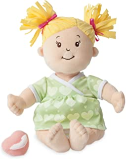 Manhattan Toy Baby Stella Blonde Soft First Baby Doll for Ages 1 Year and Up, 15
