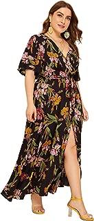 Best high waist v neck maxi dress Reviews