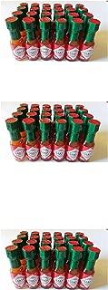 TABASCO brand Mini Tabasco Original Pepper Sauce Bottles 1/8 Oz. - Box of 24 Little Real Glassbottles (3 Pack)