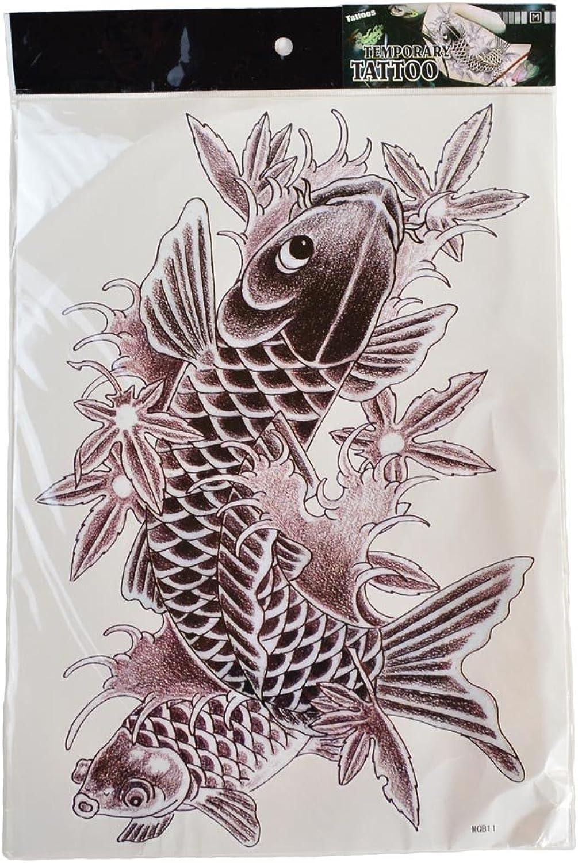 Also emphasis on design  Carp tattoo stickers tattoo stickers TATOO back Größe cosplay (japan import) B00DT32KXK Neues Design  | Authentisch