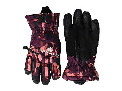 Obermeyer Kids Lava Gloves (Little Kids/Big Kids) (Liquid Camo) Extreme Cold Weather Gloves