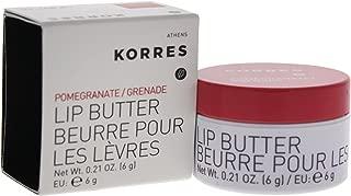 KORRES Pomegranate Lip Butter, 0.21 Oz