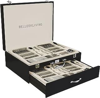 Belleek 72 Piece Occasions Cutlery Set, Silver