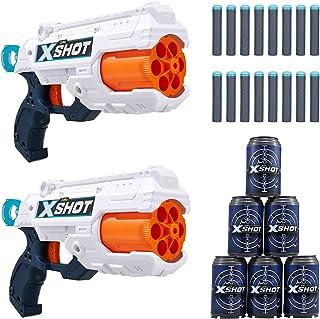 XShot 36225 Reflex Combo Dart Gun (6 Pack) AGE +8