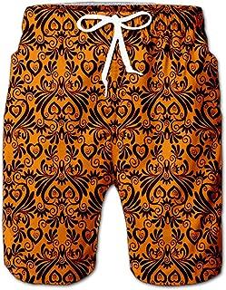 Summer Shorts Pants Be Strange Element Swim Trunks Stripe Casual Swim Shorts