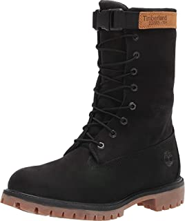 All Leather Gaiter Boot Black 8