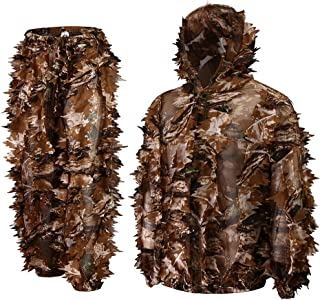 Roslynwood Super Natural Camouflage Leafy Hunting Suit
