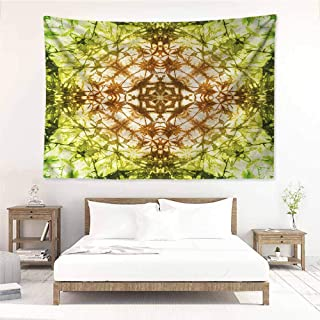 Sunnyhome DIY Tapestry,Scary Tie Dye Abstract Pattern,Wall Hanging Carpet Throw,W60x40L