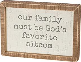 our family must be god's favorite sitcom