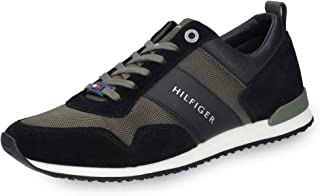 8470a6210c T. Hilfiger FM0FM02042905 Herren Sneaker Veloursleder Textilinnenausstattung