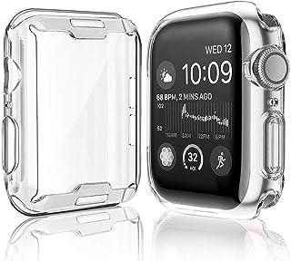 ZAALFC Cubierta Transparente del Reloj Delgado para la Caja del Reloj de Apple 5 4 3 2 1 42mm 38mm Protector de Pantalla d...