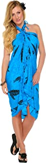 1 World Sarongs Women's Turtle Swimsuit Cover up Sarong