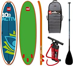 Red Paddle Set 10.8 'Activ Sup Stand Up Paddle Surf monopatín con Aqua Marina Remo