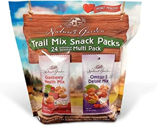 Nature's Garden Trail Mix Snack Pack 24 X 1.2 Oz Net Wt (28.8 Oz)