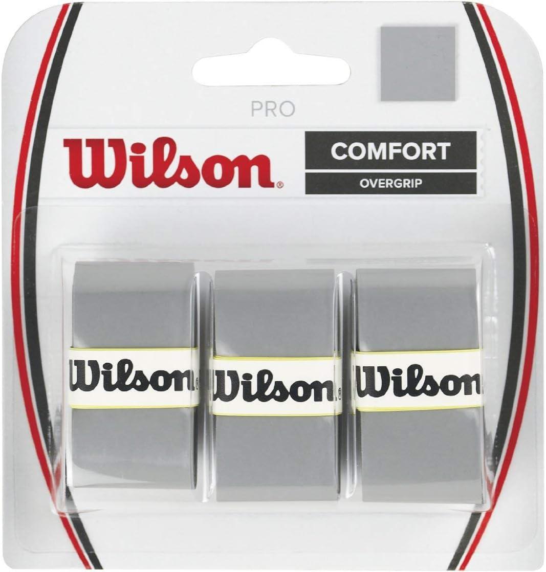 WILSON PRO CONFORT OVERGRIP BLANCO EMPUÑADURA PARA TENIS PADEL
