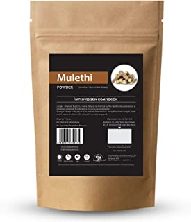 Herb Essential Organic Mulethi (Licorice/Yastimadhu) Powder, 50 g