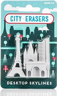 Suck UK City Erasers - Paris (SK ERASERPAR1)