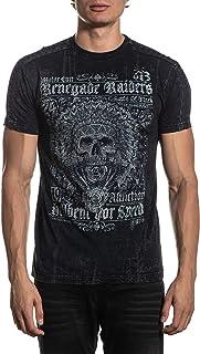 Affliction Men's Graphic T-Shirt, Renegade Riders Variant, Short Sleeve Crew Neck Shirt