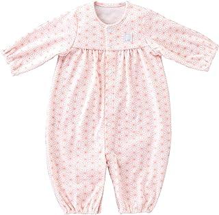 赤ちゃんの城 ツーウェイドレス 麻の葉 ベビー服 新生児 日本製 春秋冬用