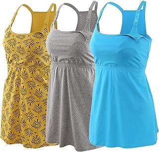 Pregnancy Breastfeeding Shirt, Maternity Nursing Top...
