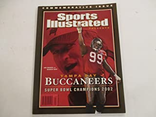 FEBRUARY 5, 2003 SPORTS ILLUSTRATED *COMMEMORATIVE ISSUE* *BUCCANEERS SUPER BOWL CHAMPIONS 2002* FEATURING JON GRUDEN AND WARREN SAPP MAGAZINE