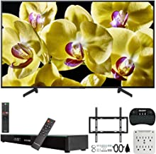 $1299 » Sony XBR-75X800G 75-inch 4K Ultra HD LED Smart TV (2019) Bundle with Deco Gear 31-inch Sound Bar, Deco Mount Flat Wall Mount Kit, Deco Gear Wireless Keyboard, 6-Outlet Surge Adapter with Night Light