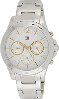 Tommy Hilfiger Women's White Dial Stainless Steel Watch - 1782194