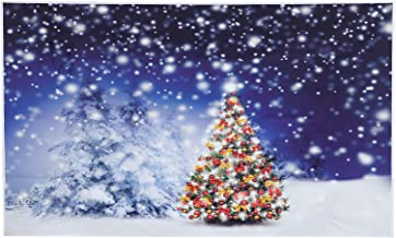 Padrão de árvore de Natal criativa, tapeçaria, pano, pano de fundo, foto