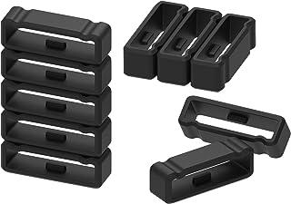 Anillo de silicona de repuesto compatible con Garmin Fenix 3 / Fenix 3 Hr/Fenix 5X /Fenix 6X Pro Solar Band Keeper cierre anillo conector seguridad