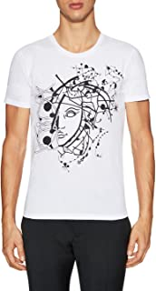 Versace Collection White Half Medusa T-Shirt