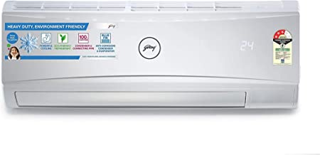 Godrej 1 Ton 3 Star Split AC (Copper, GSC 12RTC3-WRA, White)