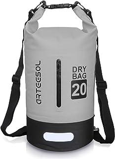 arteesol Dry Bag wasserdichte Tasche 5L/10L/20L/30L Wasserfester Beutel Packsack mit..