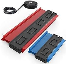 3 Pack Contour Gauge, Plastic Profile Gauge, Shape Duplicator, Precisely Copy Irregular..