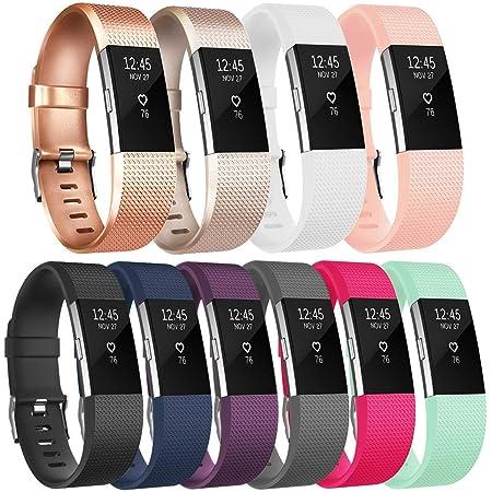 Sangle De Remplacement pour Le Fitbit Charge 2 Yousave Accessories Bracelet De Rechange Compatible pour Fitbit Charge 2 Disponible en 15 Couleurs