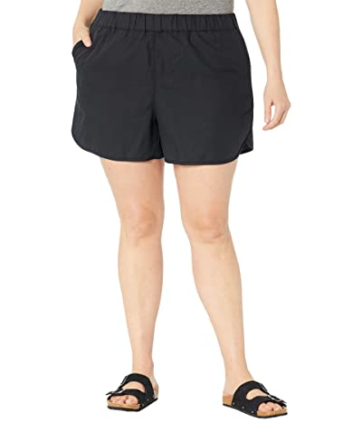 Madewell Plus Size Pull-On Shorts with Seaming Detail Women
