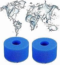 LXTOPN esponja de cartucho filtrante filtro para Intex de tipo S1, esponja de filtro de piscina, filtro de spa para Intex tipo S1, reutilizable y lavable, accesorios de limpieza (2 unidades)